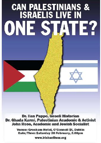 Poster Can Palestinians & Israelies Live In One State