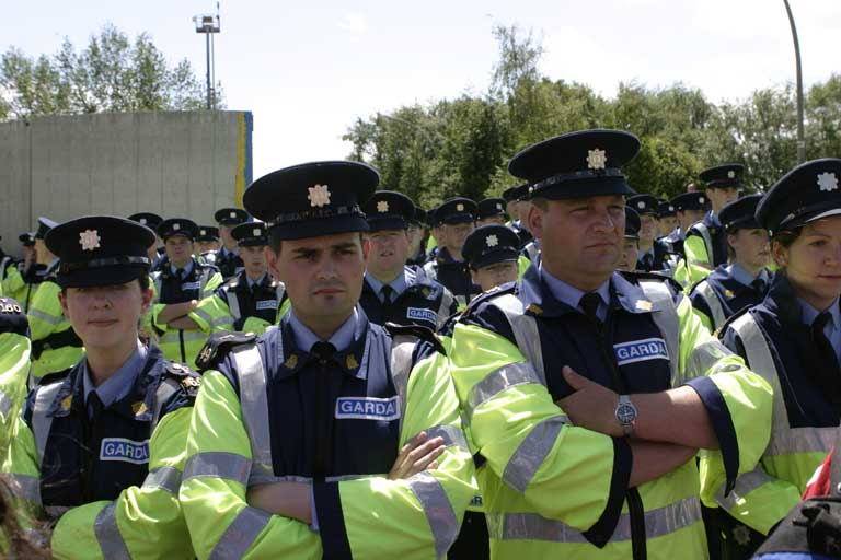 Do You Feel Safe Yet There are certainly enough Garda
