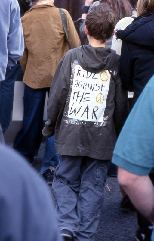 Kids Against The War